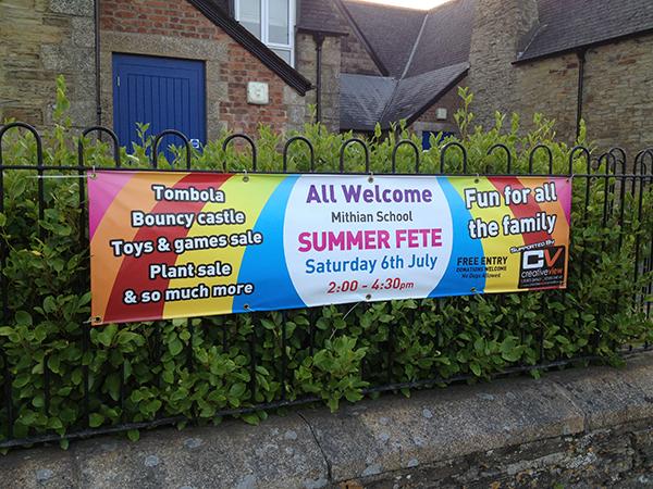 Summer Fete Banner